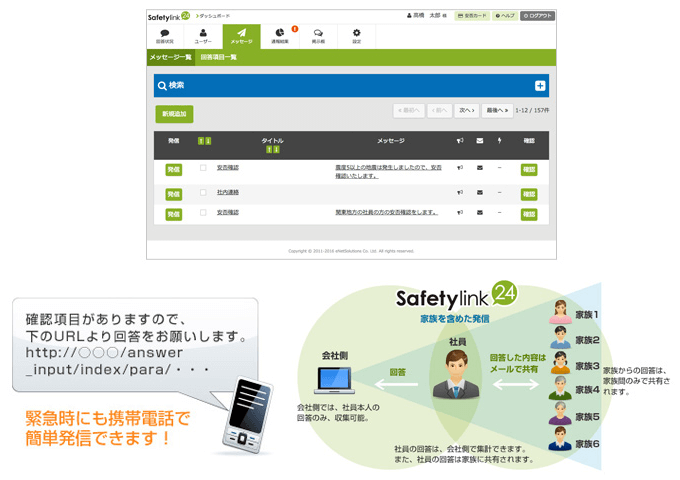 Safetylink24の特徴